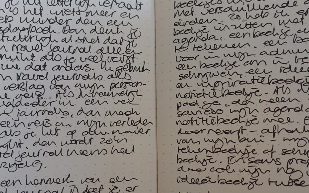 Wat is een travel journal?