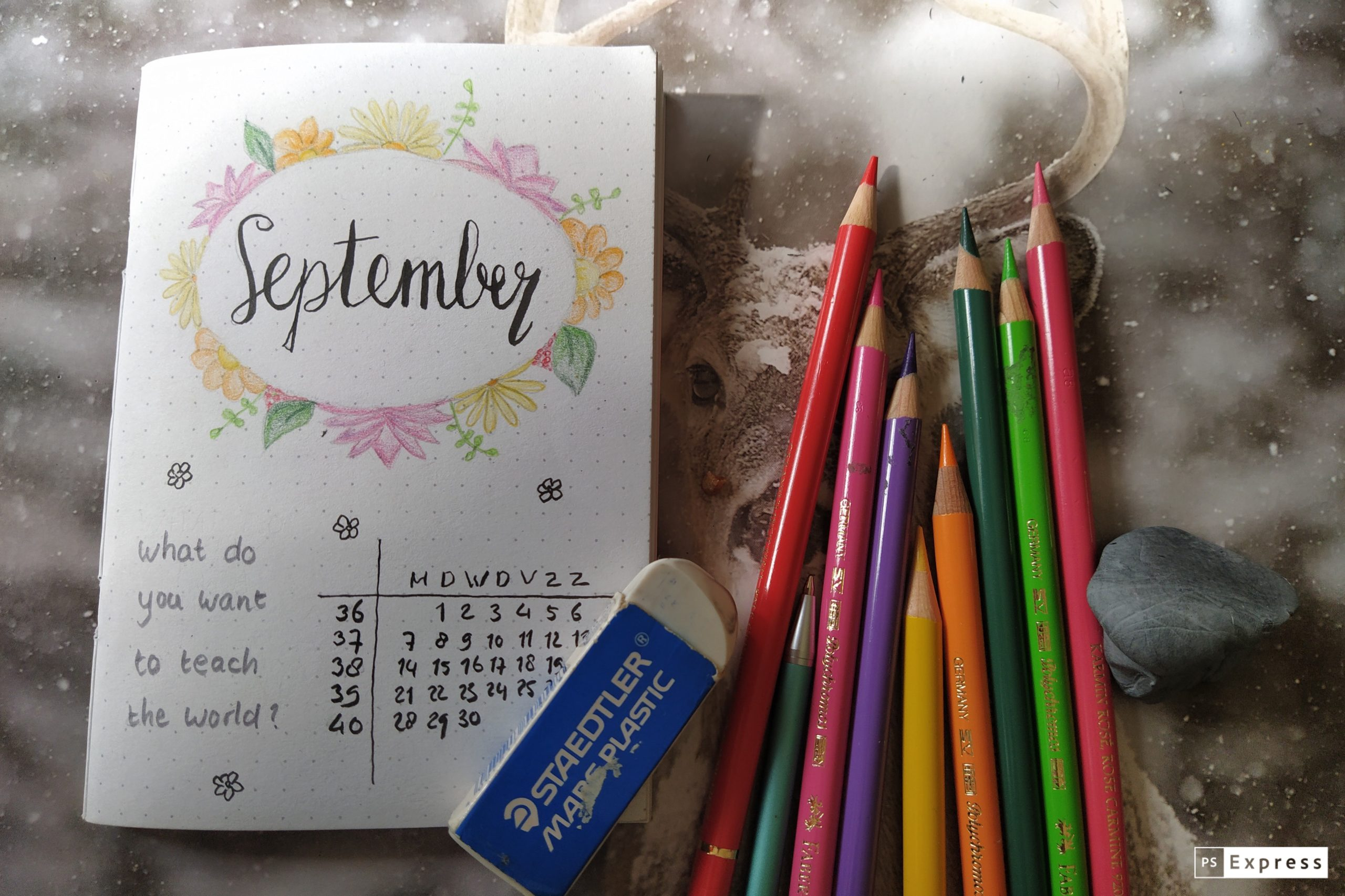 Weekplanner september 2020 omslag